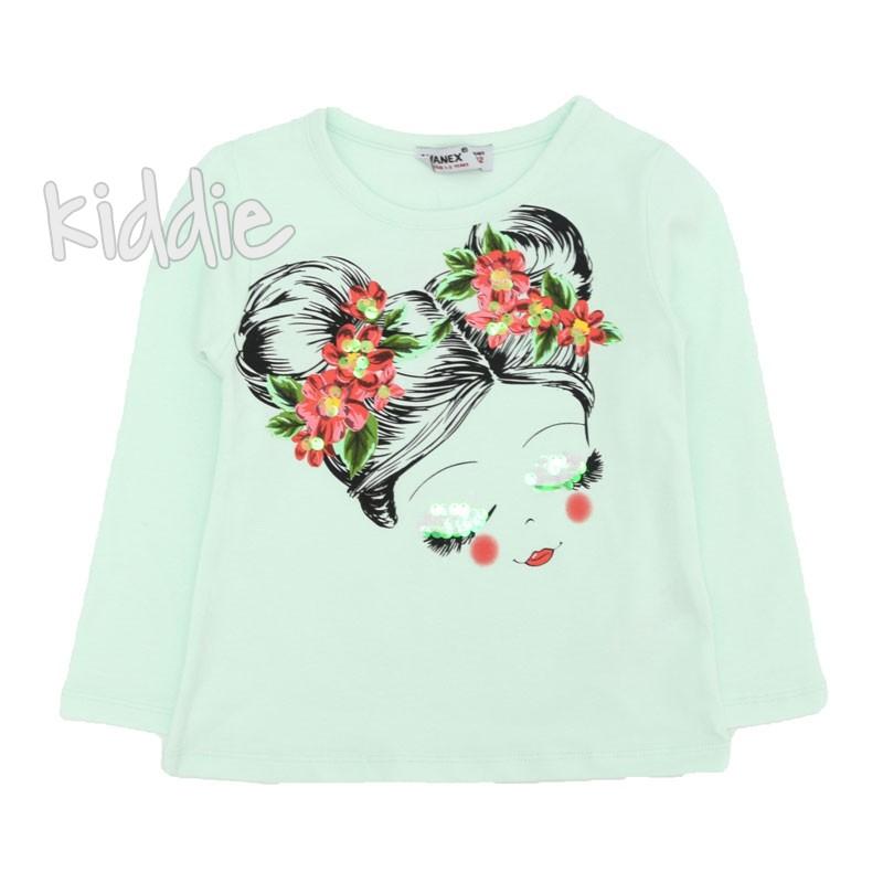 Детска блуза Wanex за момиче с щампа