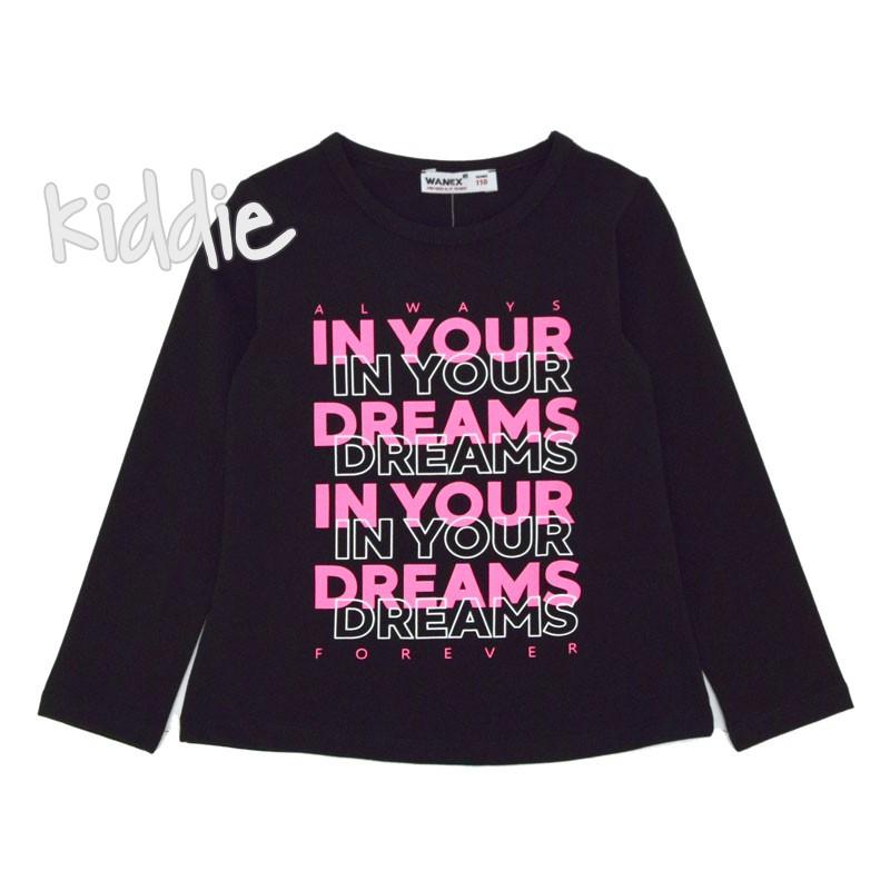 Детска блуза Wanex In your dream за момиче