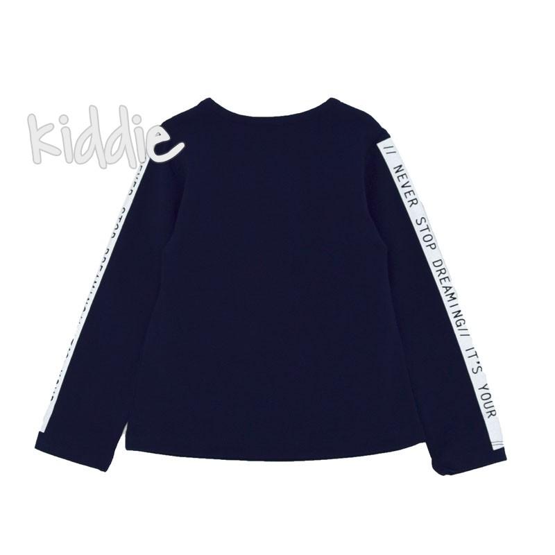 Детска блуза Wanex с цикламена звезда за момиче