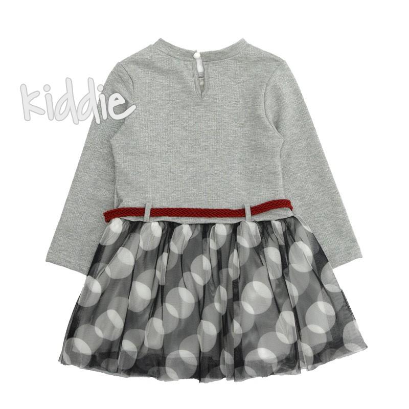 Детска рокля Smile Cocoland тюл на точки