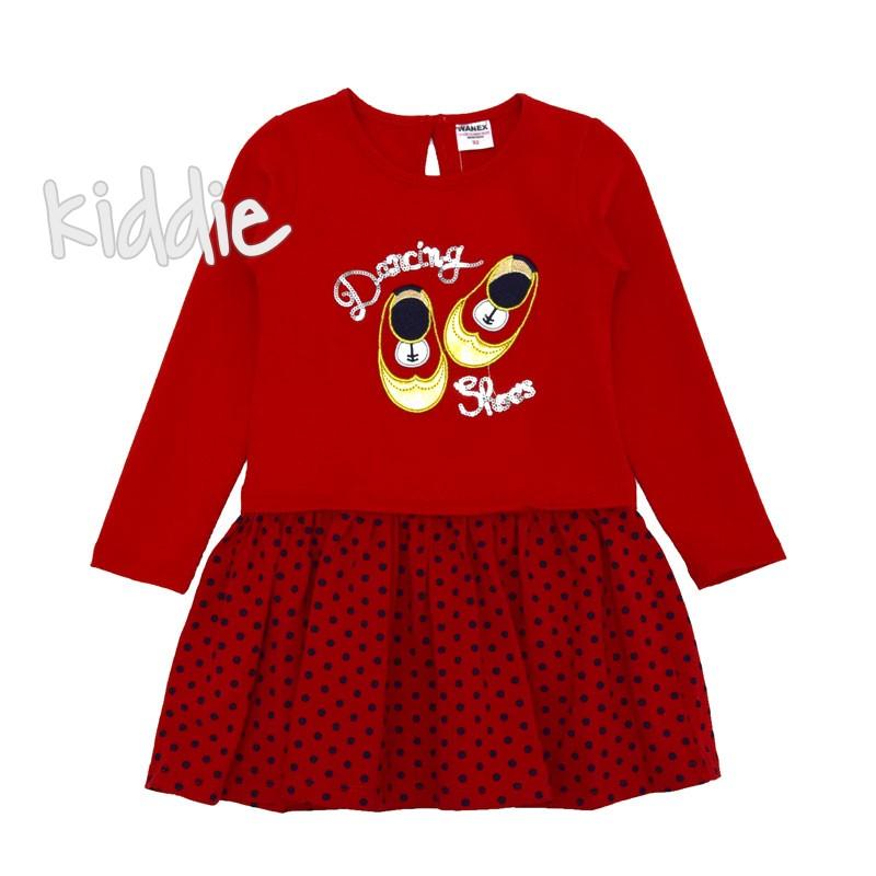 Детска рокля на точки Wanex