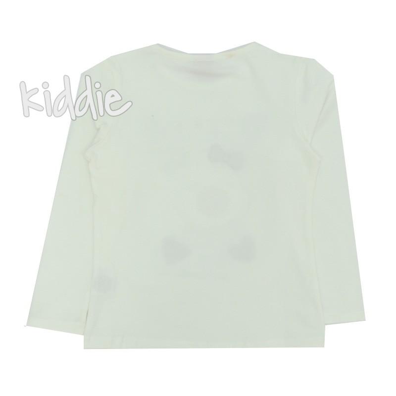 Детска блуза с дълъг ръкав за момиче Ativo