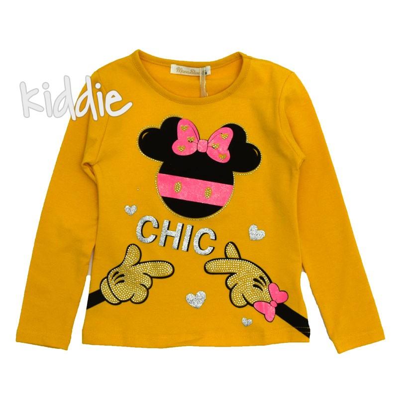 Детска блуза за момиче Chic, Mono star