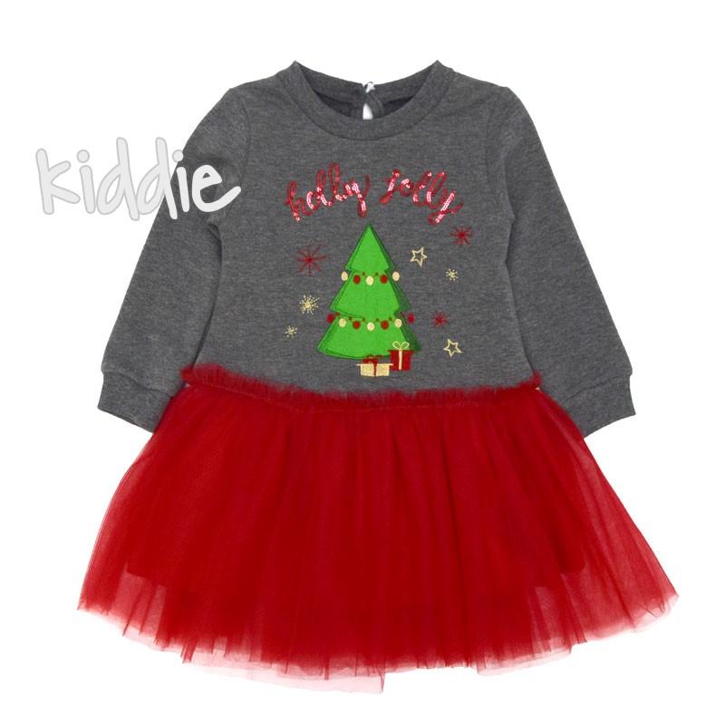 Детска коледна рокля Lilax