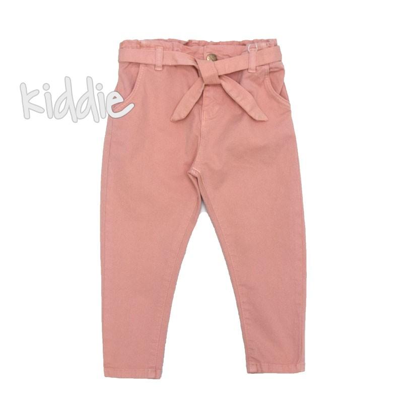 Детски панталон с колан за момиче Cikoby
