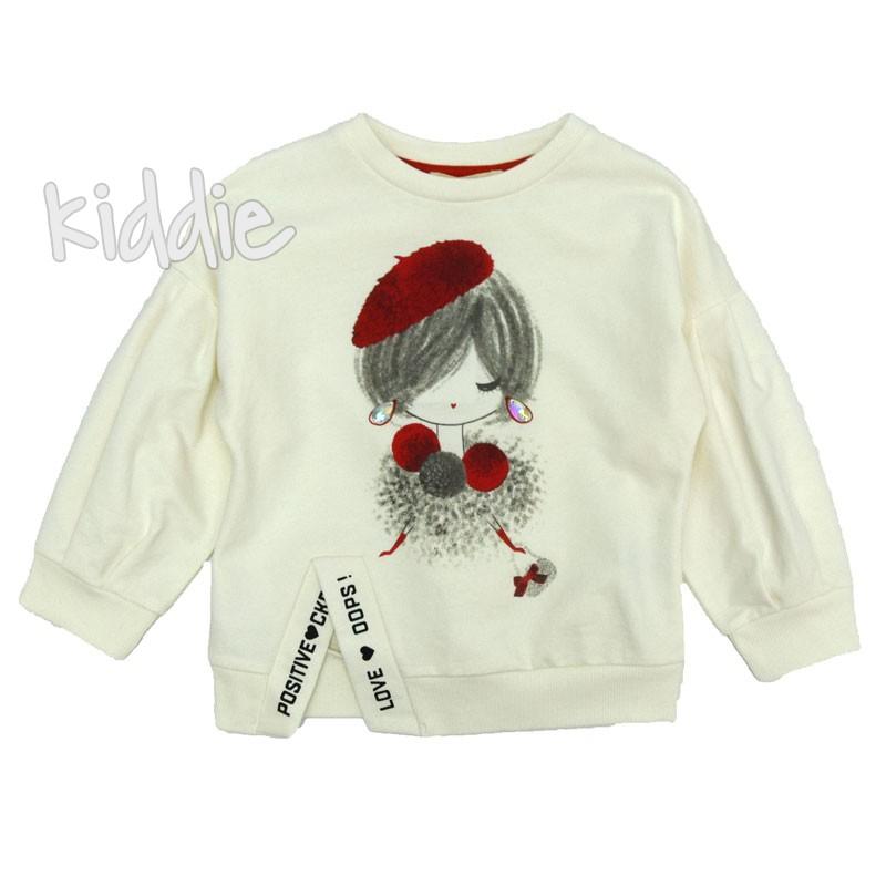 Детска блуза за момиче с дълъг ръкав Cikoby