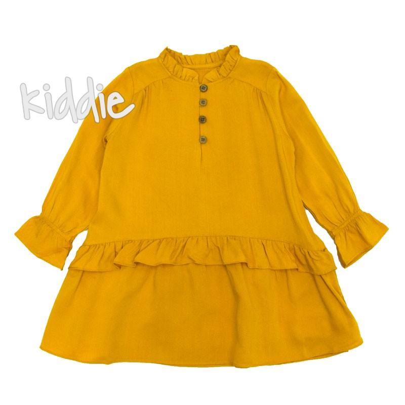 Детска рокля с дълъг ръкав и копченца, Cikoby