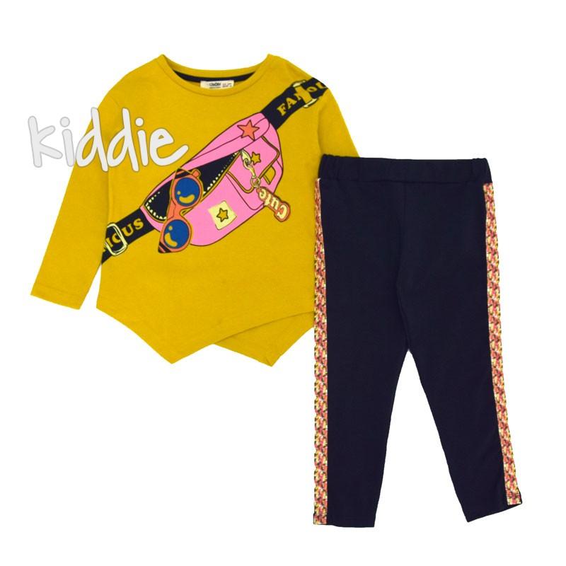 Детски комплект Cikoby с туника за момиче