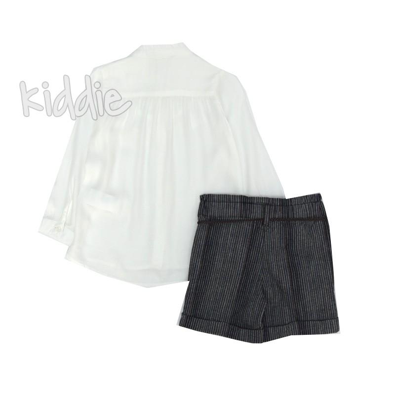 Детски комплект Cikoby за момиче с риза