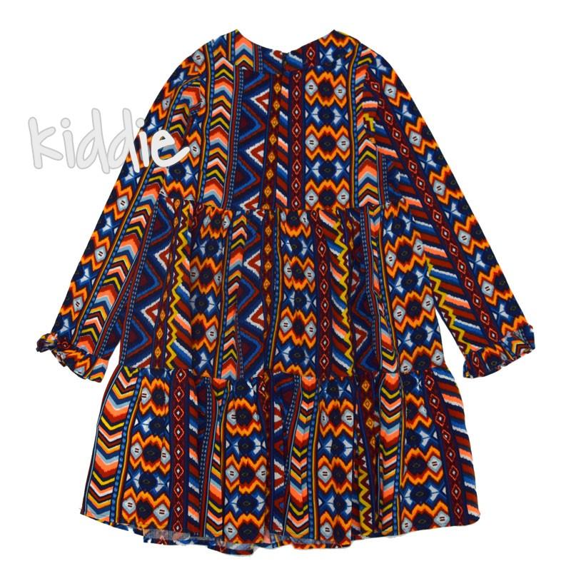 Цветна детска рокля Cikoby