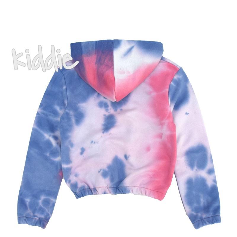 Детски блузон Cikoby с преливащи цветове за момиче