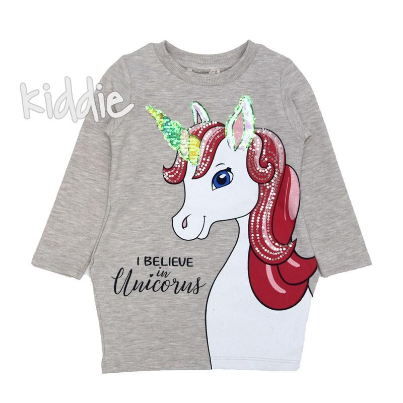 Детска рокля I Believe in Unicorns Pop Fashion