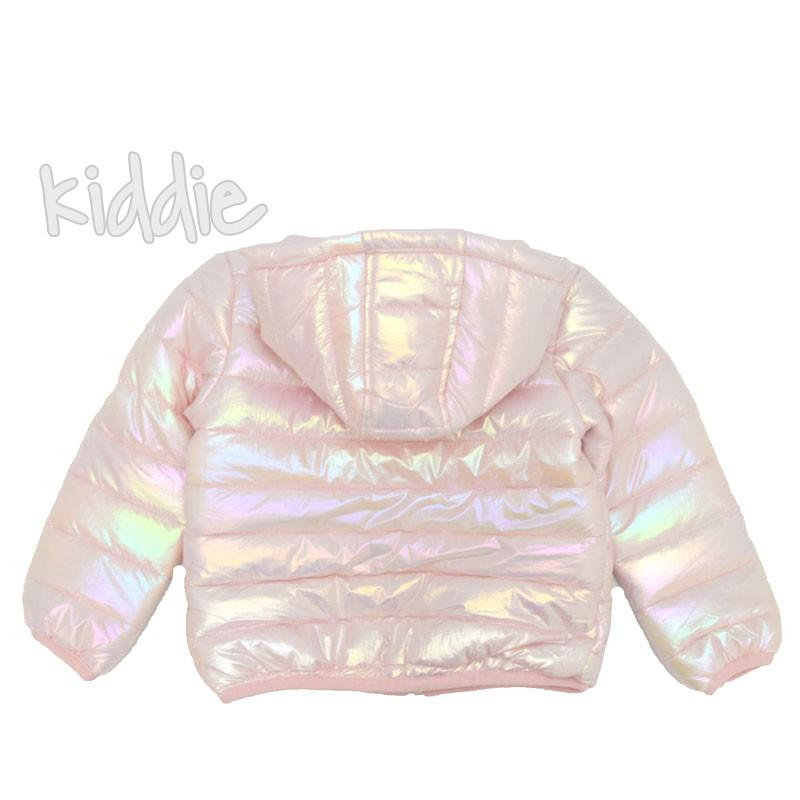 Детско есенно яке за момиче Pink Rabbit