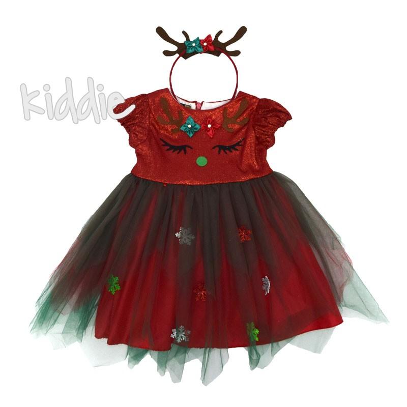 Детска коледна рокля Eraykids