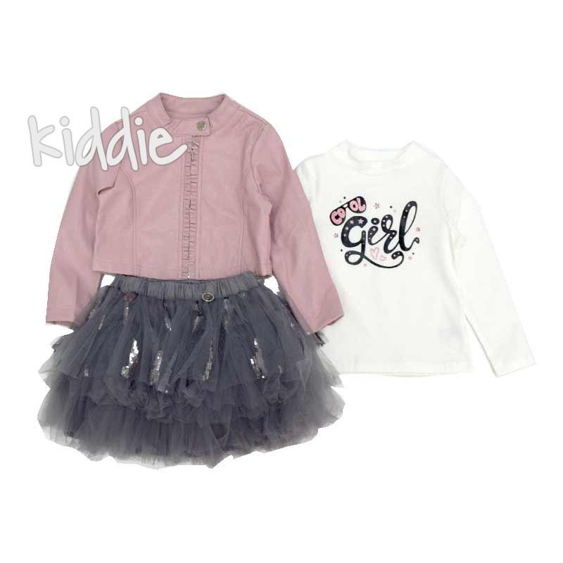 Детски комплект с тюлена пола за момиче Gossyp