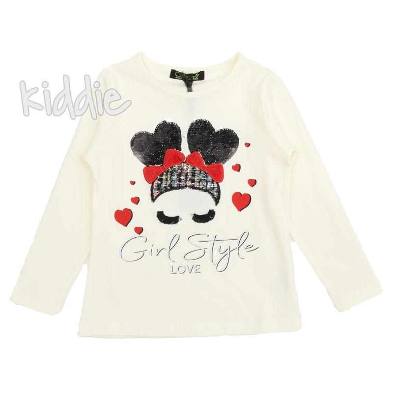 Детска блуза за момиче Girl style, Sweet couture