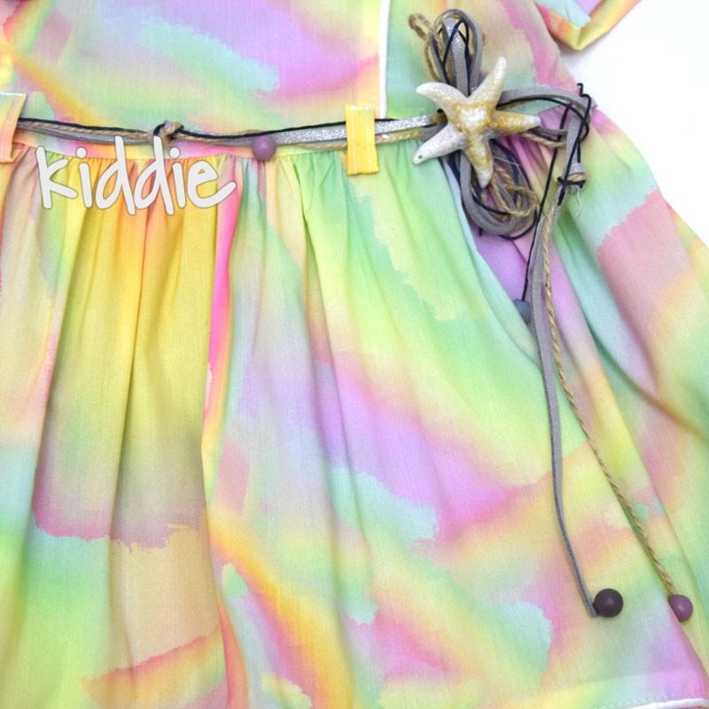 Детска рокля Miss Mariams с морски звезди