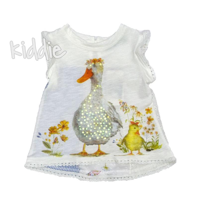 Детска тениска Cichlid Патенца за момиче