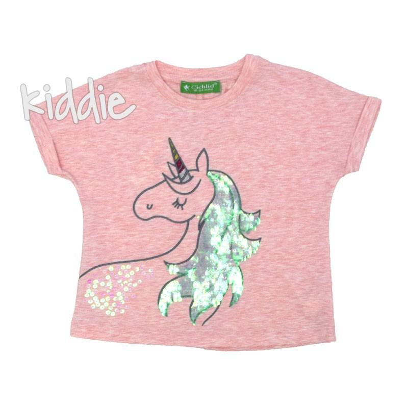 Детска тениска Cichlid  Еднорог за момиче