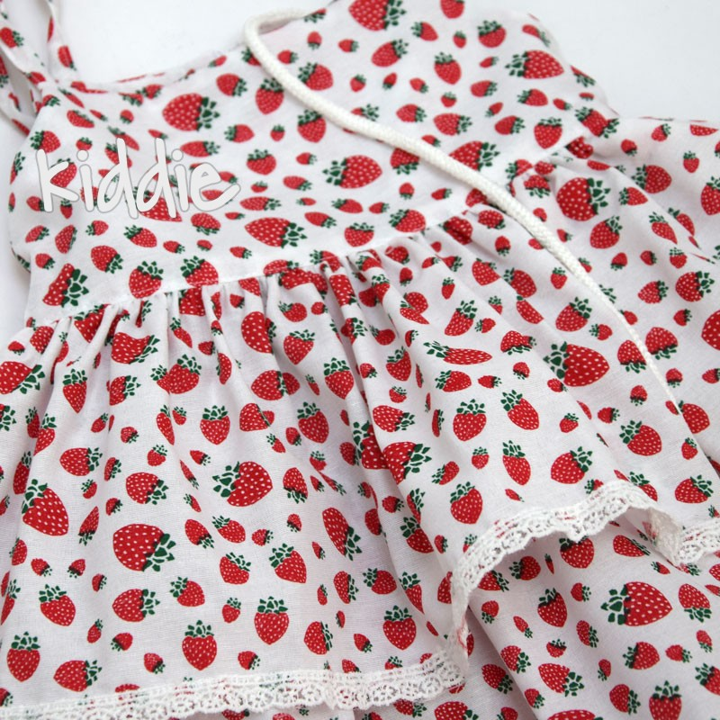 Детска рокля Плодчета Entel с чанта