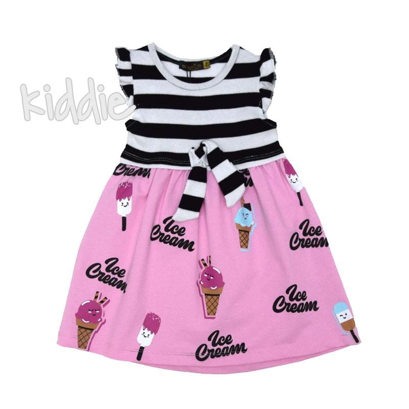 Детска рокля от трико Ice Cream Eraykids