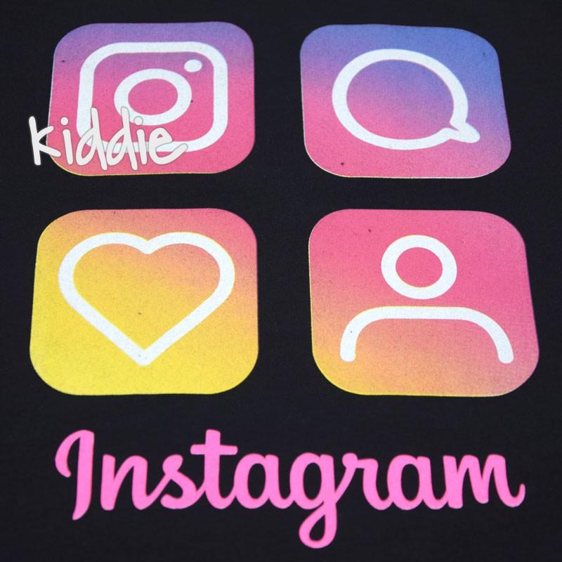 Детска тениска Instagram Loco Loco за момиче