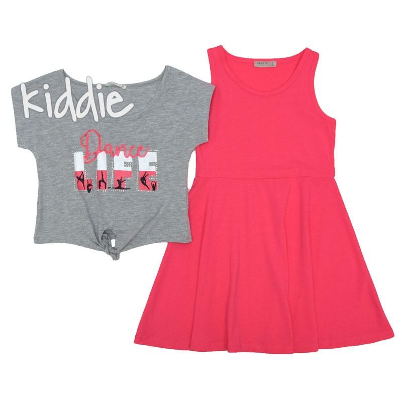 Детска рокля Breeze с къса блуза