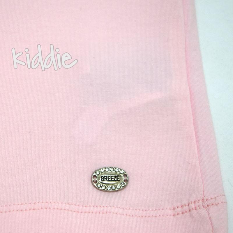Детска тениска Breeze с детайл за момиче