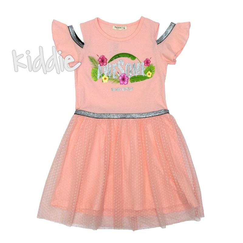Детска рокля Breeze Awesome за момиче