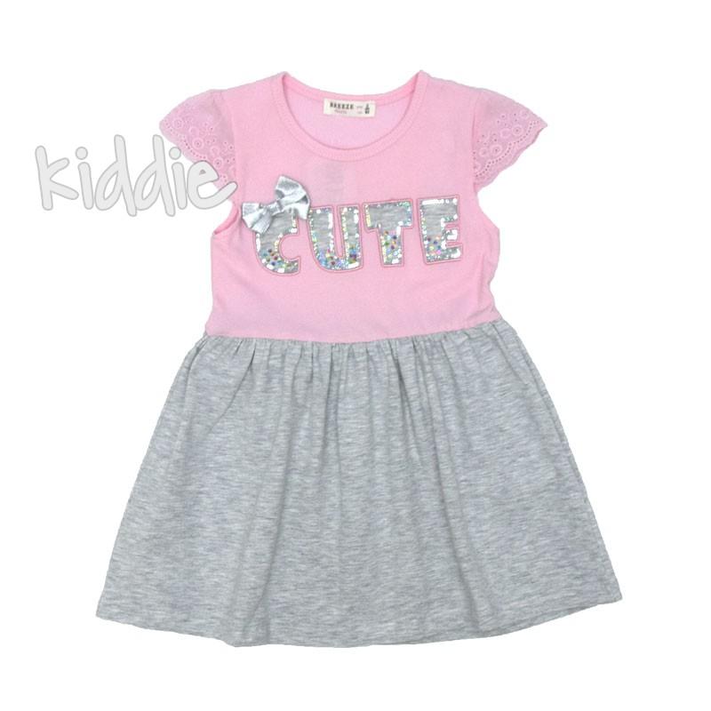Детска рокля Breeze Cute с панделка