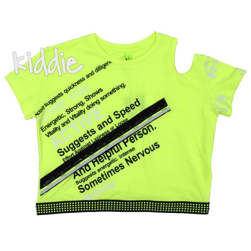 Детска тениска Loco Loco Suggests за момиче