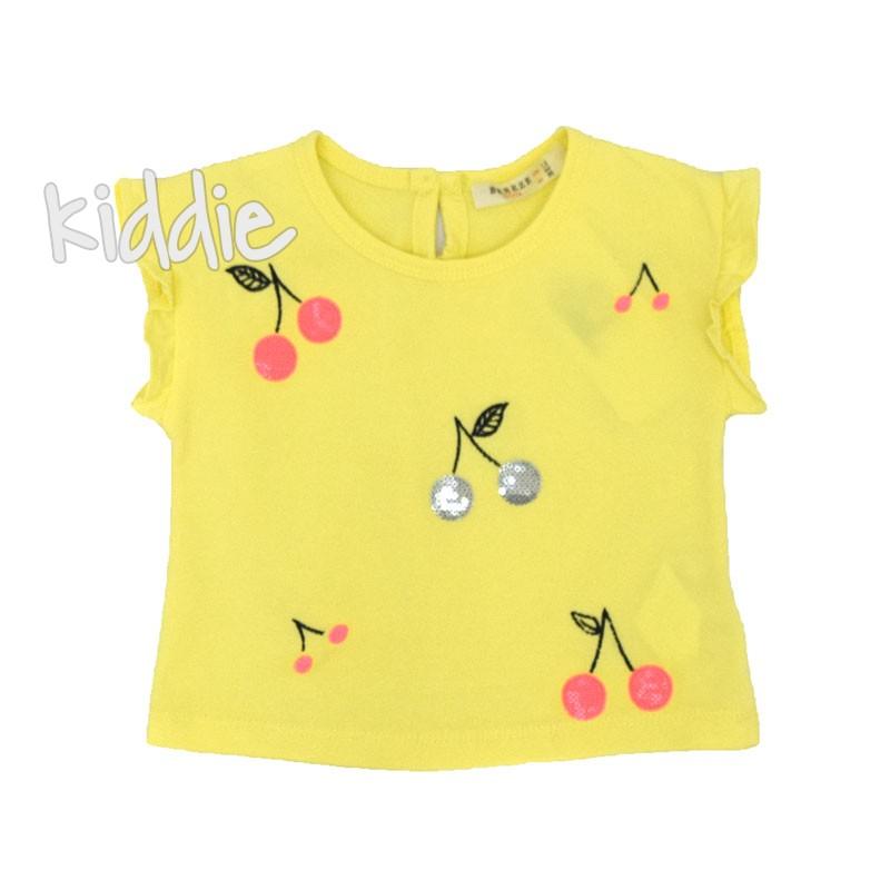 Детска блуза Черешки Breeze за момиче