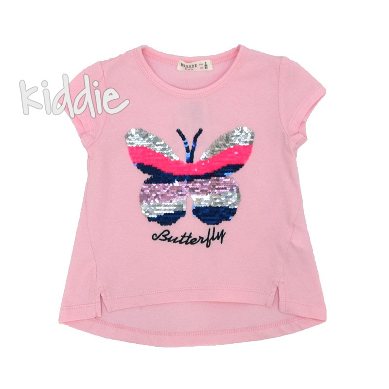 Детска тениска Breeze Butterfly за момиче