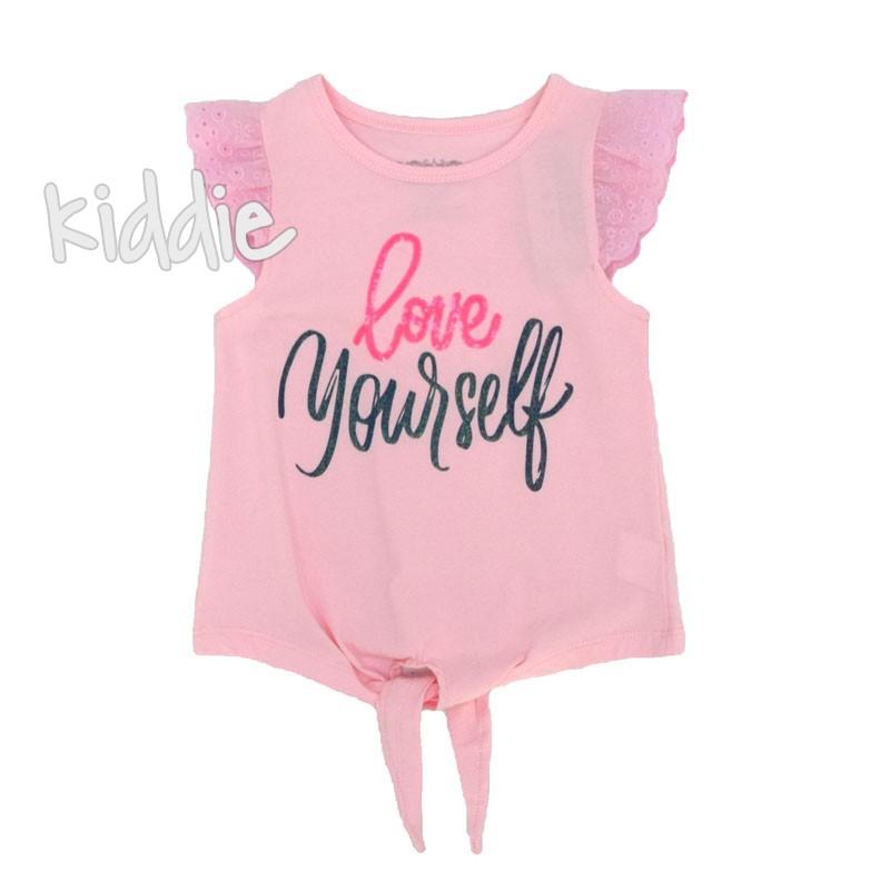 Детска тениска Love Yourself Breeze за момиче