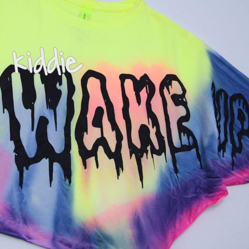 Детска тениска Wake up Loco loco за момиче