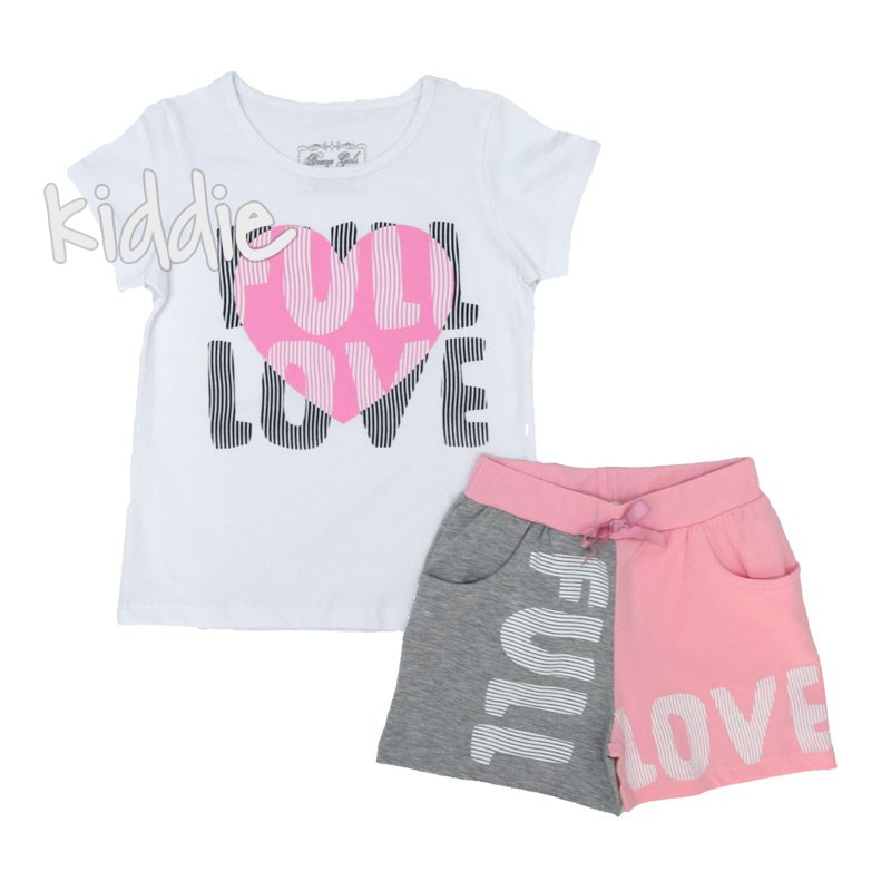 Детски комплект Full Love Breeze за момиче