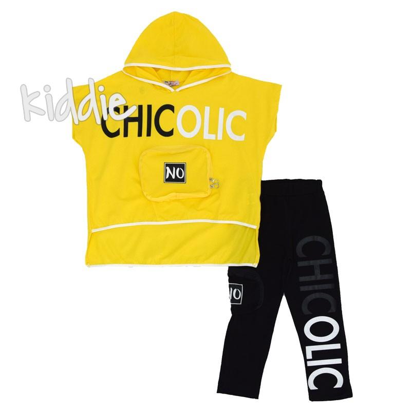 Детски комплект Chicolic Teto за момиче