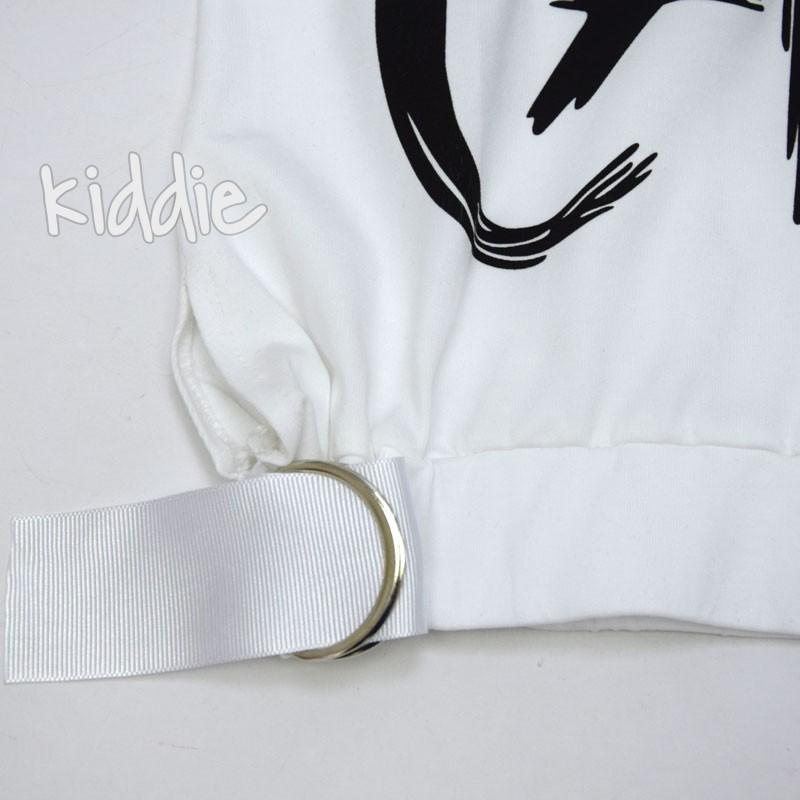 Детска тениска Who Capes Teto за момиче