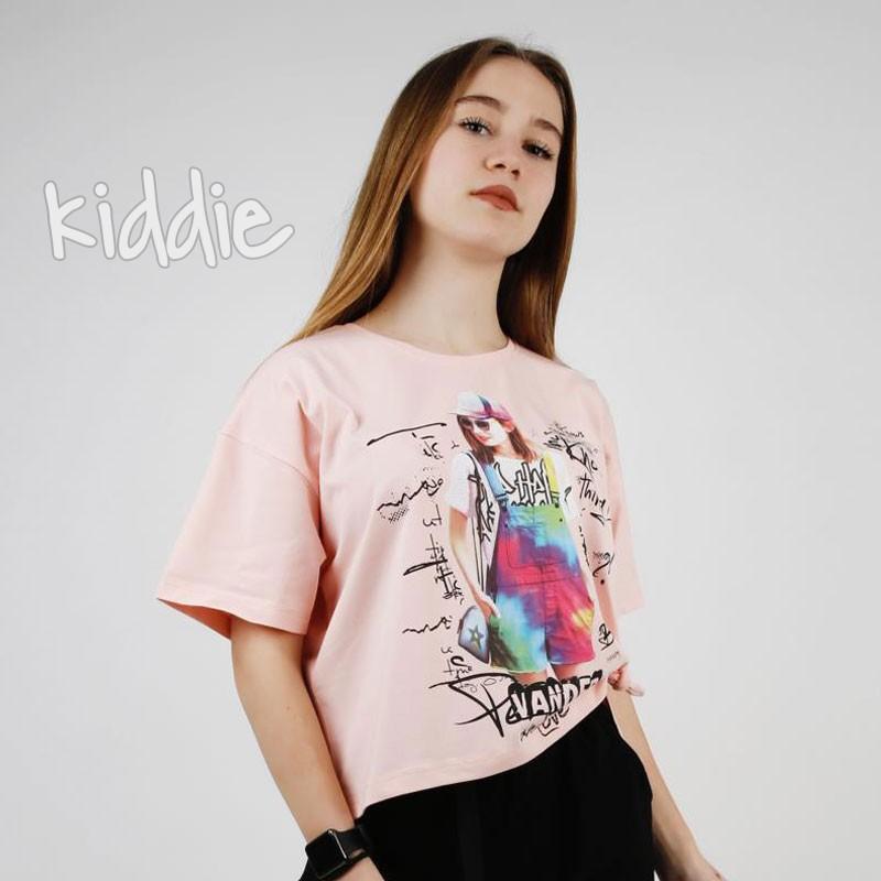 Детска тениска Vander Teto за момиче