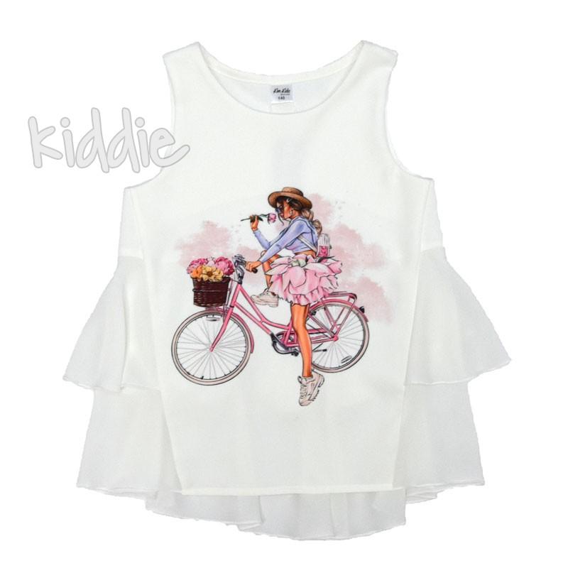 Детска туника с принт Kim Kids за момиче
