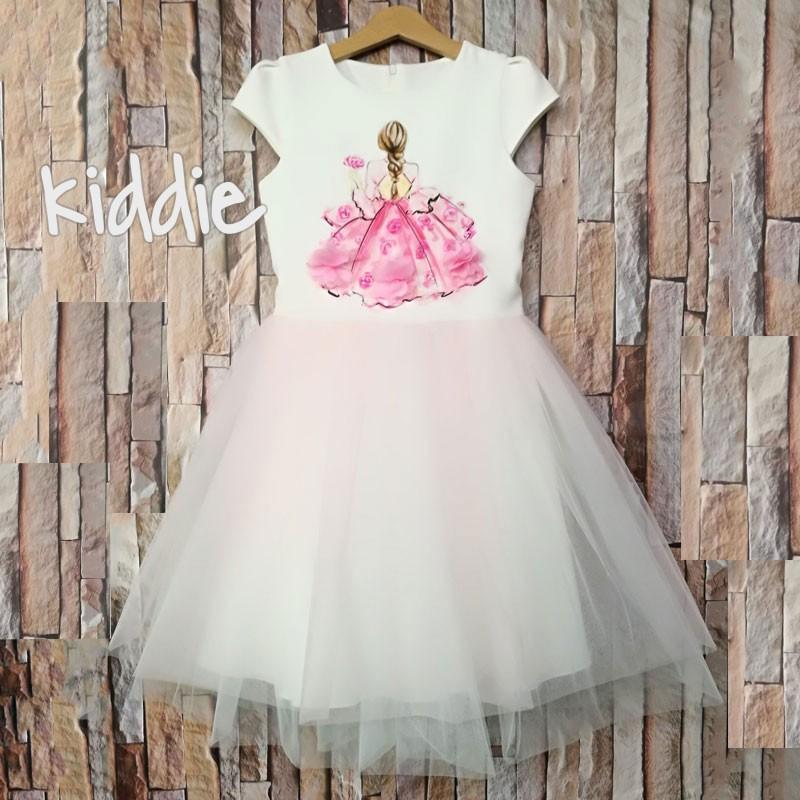 Детска рокля Kim Kids Розова нежност