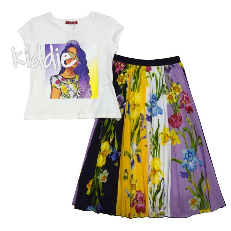 Детски комплект Цветна феерия CSW за момиче