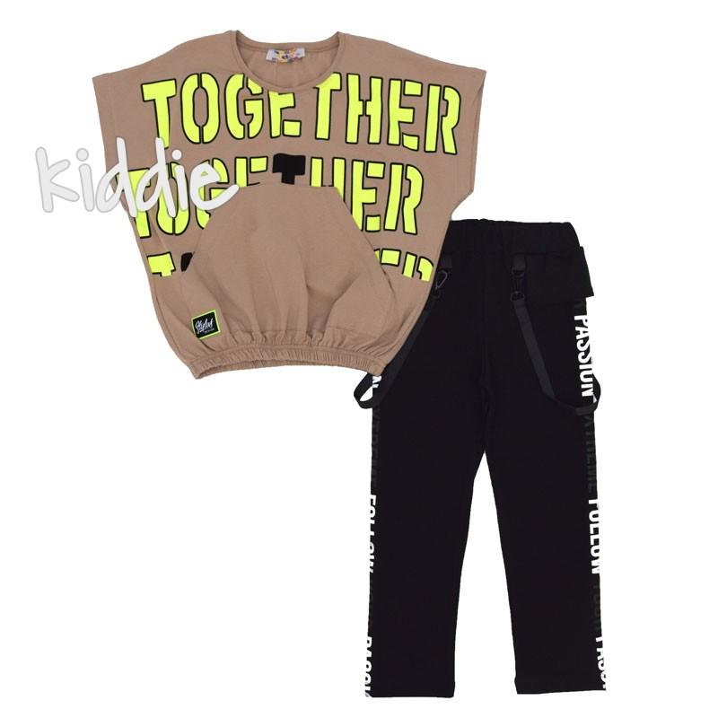 Детски комплект Together Teto за момиче
