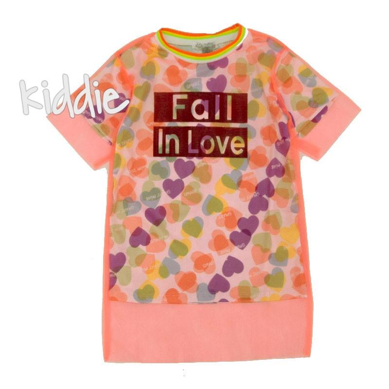Детска туника с тюл Fall in love Lollitop