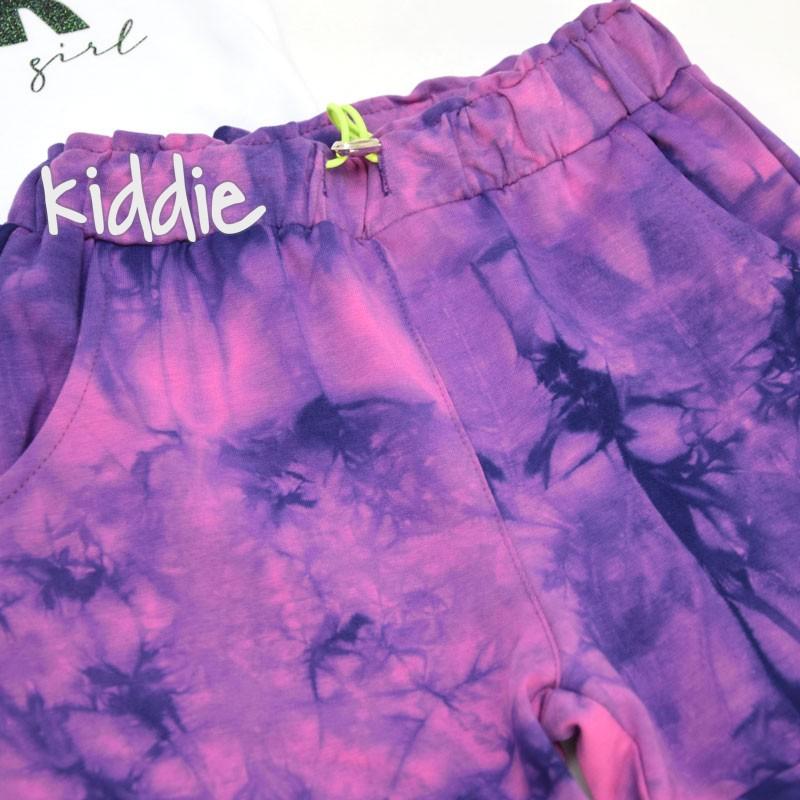 Детски комплект с тениска Cichlid за момиче