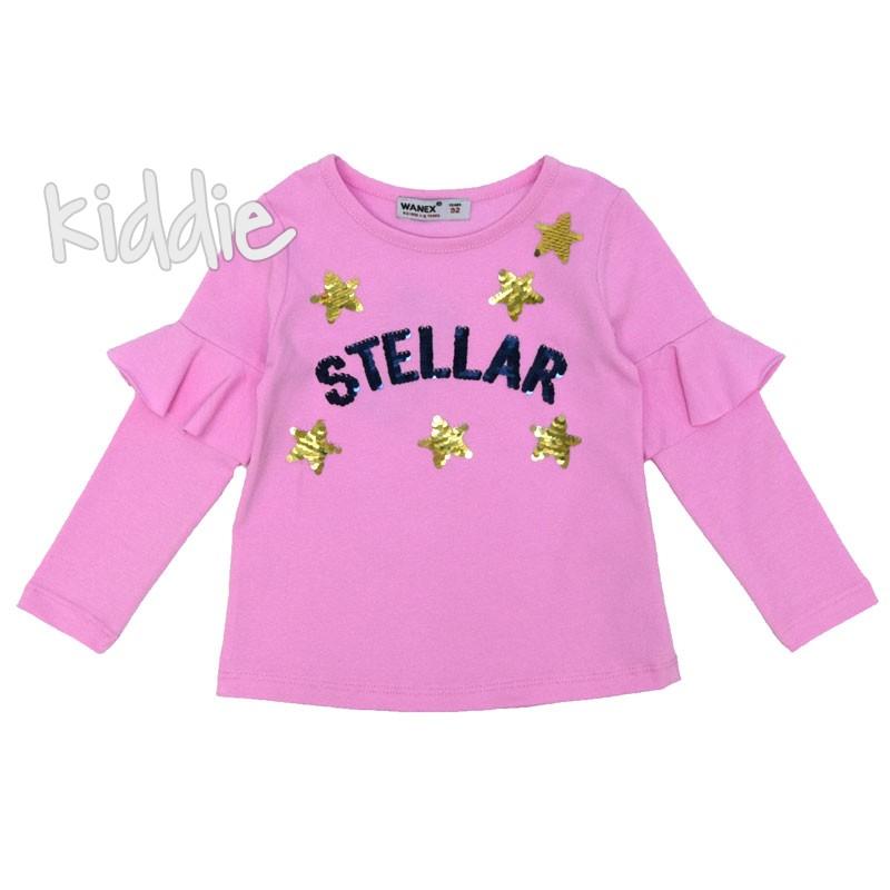 Детска блуза Stellar Wanex за момиче