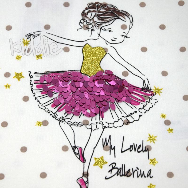 Детска тениска My lovely Ballerina Wanex за момиче