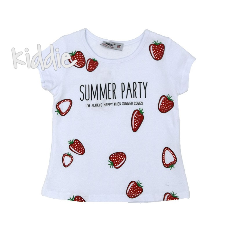 Детска тениска Summer Party Wanex за момиче