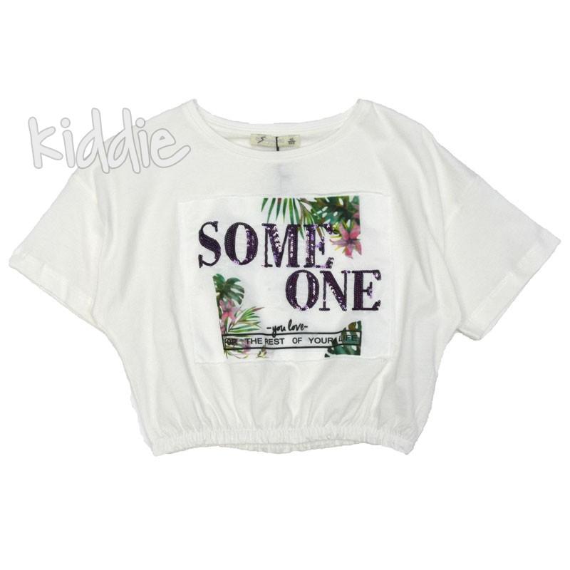 Детска блуза Some One Escabel за момиче