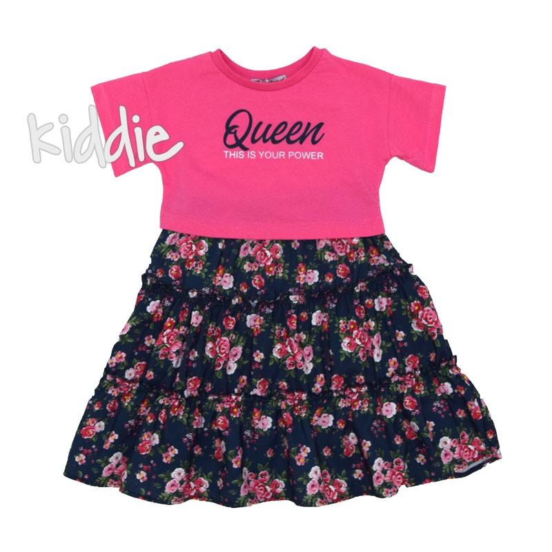 Детска рокля Cocoland Queen с блуза